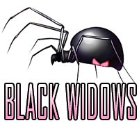 Black Widows team badge