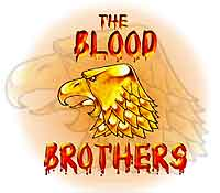 The Blood Brothers team badge